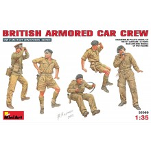 BRITISH ARMORED CAR CREW