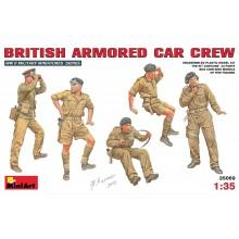 BRITISH ARMORED CAR CREW