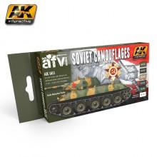 Soviet Camouflages Set Acrylic