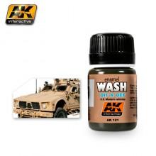 Oif & Oef – US vehicles wash