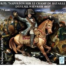 NAPOLEON SUR LE CHAMP DE BATAILLE D'EYLAU 1807