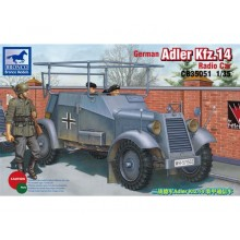 German Adler Kfz.13 Radio Car