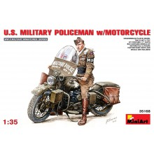 1:35 U.S. MILITARY POLICEMAN w/MOTORCYCLE