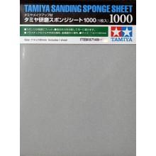 Abrasivos tipo esponja Tamiya 1000
