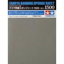 Abrasivos tipo esponja Tamiya 1500