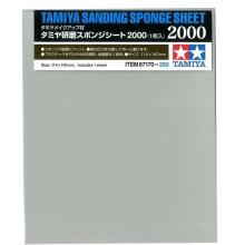Abrasivos tipo esponja Tamiya 2000
