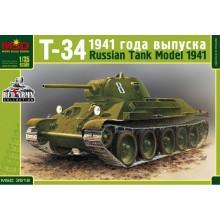 Т-34 RUSSIAN MEDIUM TANK, MODEL 1941 1:35