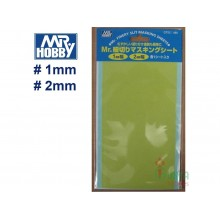 MR.HOBBY MASKING TAPE 1 & 2 mm