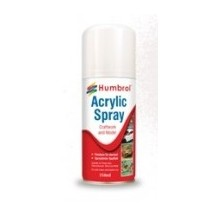 Acrylic Varnish Satin - 150ml Spray Varnish