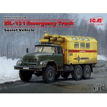 1:35 ZIL-131 EMERGENCY TRUCK, SOVIET VEHICLE