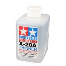 Acrylic Thinner Tamiya X20-A 250ml