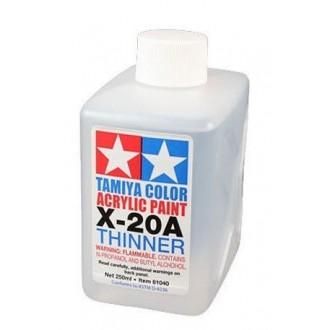 Acrylic Thinner Tamiya X20-A 46ml