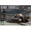 1:35 WWII German King Tiger Henschel w/Zimmerit and interior