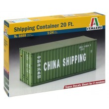 1:24 Shipping Container 20 Ft.