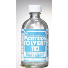 Acrysion Solvent Thinner (water-based) 110ml