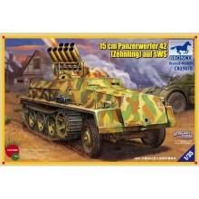 15cm Panzerwerfer 42 (Zehnling) auf SWS 1:35