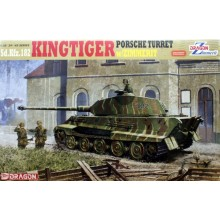 1:35 KINGTIGER PORSCHE WITH ZIMMERIT
